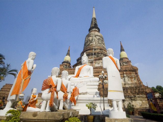 Ayuthaya-Thaïlande